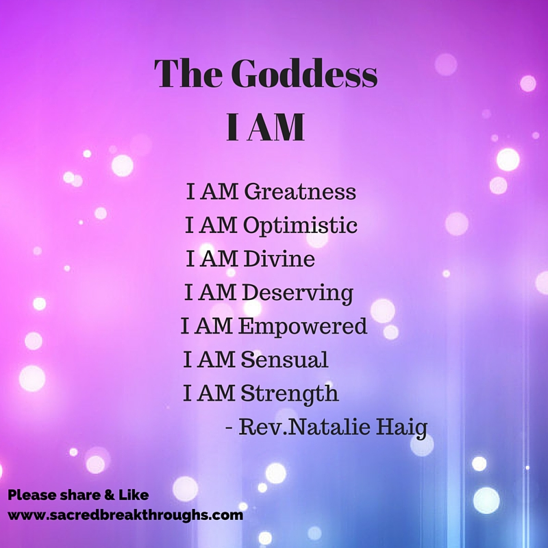 Goddess I AM Online Program